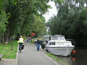 The Union Canal towpath