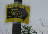 Sign to St Andrews