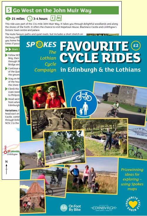 Cover if Favourite Bike Rides booklet